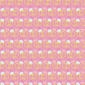 Seamless pattern with gold wedding rings — Stock vektor