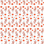 Colorful autumn seamless pattern — Stock vektor