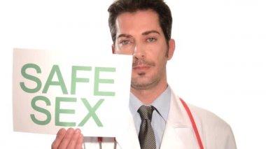 Safe sex — Stock Video