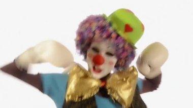 Clown de boxe — Vidéo