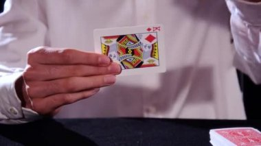 A magic trick — Stock Video