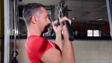 Tiempo del gimnasio — Vídeo de Stock