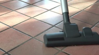 Rengöring av golv — Stockvideo