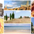 Wonderful italy, collage — Stock Video