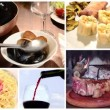 Stock Video: International cuisine collage