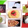 Italian cuisine — Stock Video