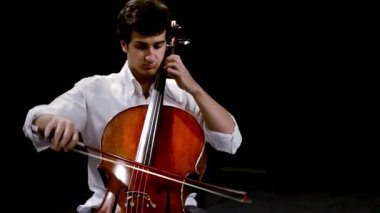 Cellist — Stock Video