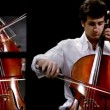 Stock Video: Cellist montage