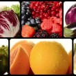 Fruit and vegetables — Stock Video #36767043