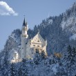 Winter view of Castle Fussen, Bavaria, Germany — Stock Photo