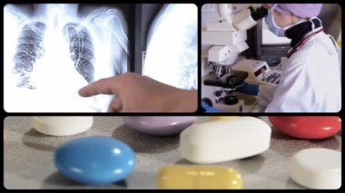 Pharmaceutical research — Stock Video