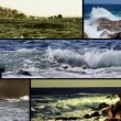 Stock Video: Waves, collage