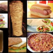 Stock Video: Fast food collage