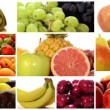 Diverse fruits montage — Stock Video #38331879
