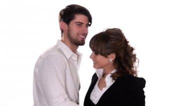 Dancing couple — Video Stock