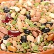 Close-up of dried legumes and cereals — Stock Video