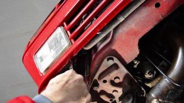 Car repair — Stock Video