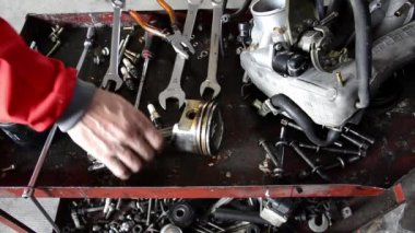 Garage tools — Stock Video