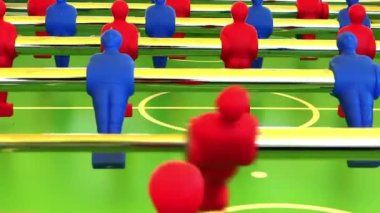 Foosball — Stock Video