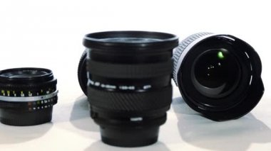 Photographic lenses — Stock Video