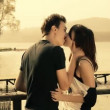 Romantic young couple — Stock Video