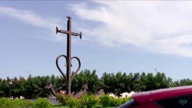 Camargue, les saintes maries de la mer — Stock Video