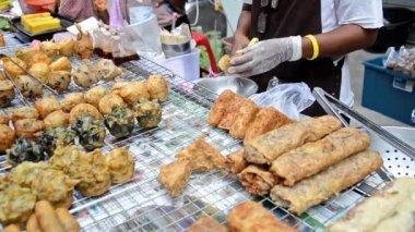 Thailand, street food — Stock Video