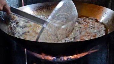 Thai street food — Stock Video