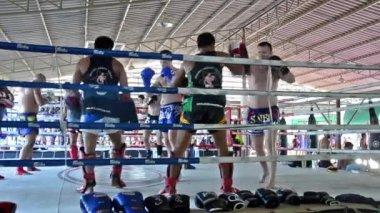 Thailand, Bangkok, Muay Thay — Stock Video