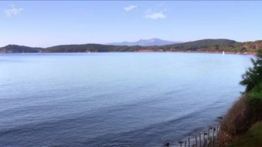Tuscany, the gulf of baratti — Stock Video