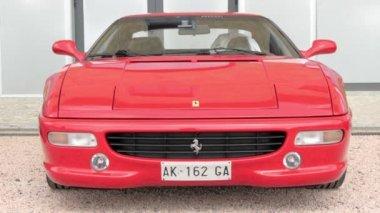 Cuorgnè, Italy, May 2014. Ferrari car. — Stock Video