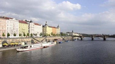 A view of prague — Stock Video