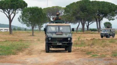 Italian Army. Military Exercise. — Video Stock