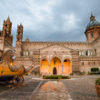 The cathedral of Palermo, Sicily, Italy — Stock Photo