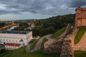 Upper Castle and Old Arsenal in Vilnius, Lithuania — Stock Photo