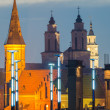 Churches in Kaunas, Lithuania — Stock Photo