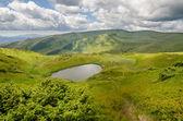 Mountain lakes in Carpathian Mountains (Ukraine) — Foto de Stock