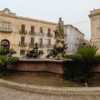 Stock Photo: Archimede Square in Syracuse, Sicily