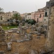 Stock Photo: Temple of Apollo in Syracuse, Sicily