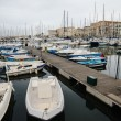 Yachts in Palermo, Sicily — Stock Photo #35932929