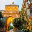 Porta Nuova. City gate in Palermo, Sicily — Stock Photo
