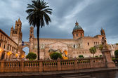 The cathedral of Palermo, Sicily in the early morming — Stock Photo
