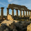 Acropolis at Selinunte, Sicily — Stock Photo