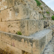 Defensive wall of Acropolis at Selinunte, Sicily — Foto de Stock