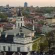 Lithuania. Vilnius Old Town in the spring — Stock Photo