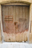 Old doors in Castelvetrano, Sicily — Stockfoto