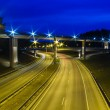 New Viaduct in Vilnius, Lazdynai (Lithuania) — Stock Photo #35956279