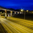 New Viaduct in Vilnius, Lazdynai (Lithuania) — Stock Photo