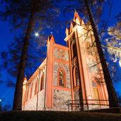 Church in Dukstos near Vilnius, Lithuania — Stock Photo