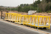 Construction of West Roundabout Way in Vilnius — Stock Photo